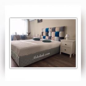 замена обивки кровати фото