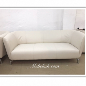 обтяжка дивана кожей фото