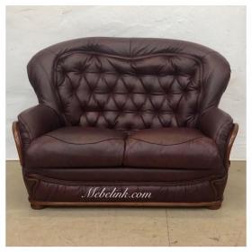 замена обивки дивана оригинальной кожей фото
