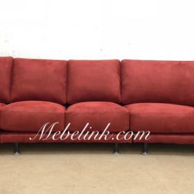 обтяжка большого дивана фото