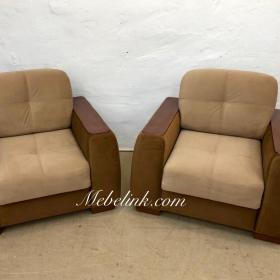 замена обивки кресла фото