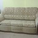Перетяжка дивана тканью фото 9