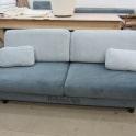 Перетяжка дивана тканью фото 7