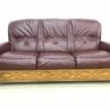 Реставрация кожаных диванов фото 3