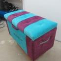 Банкетки и пуфы с каретной стяжкой фото 2