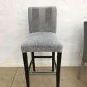 Перетяжка стульев тканью фото 9