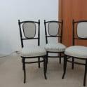 Перетяжка стульев тканью фото 10