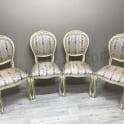 Перетяжка стульев тканью фото 8