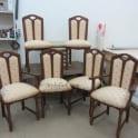 Перетяжка стульев тканью фото 1