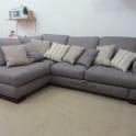 Перетяжка дивана тканью фото 4